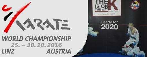Résultats Championnats du monde de Karate – Linz 2016