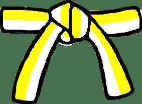 Cinturón Blanco/Amarillo