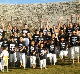 Participants of the first ever 100 Kata Challenge on Okinawa
