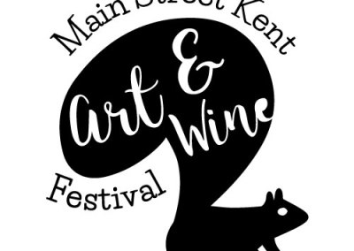 Main Street Kent Art & Wine Festival Logo Project