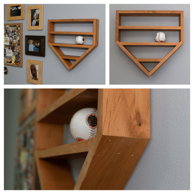 Custom Wooden Baseball Frame