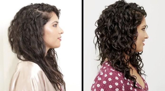 طرق مذهلة لإبراز الشعر المجعد