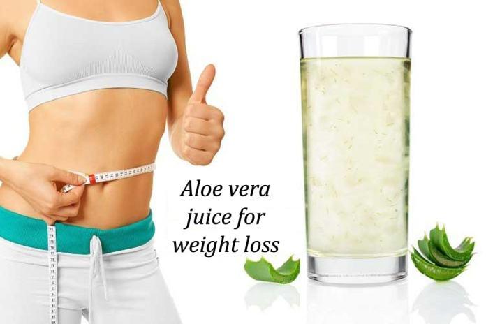 عصير الالوفيرا للتنحيف وإنقاص الوزن