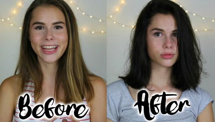 أسرع طريقة لإزالة الصبغة من الشعر