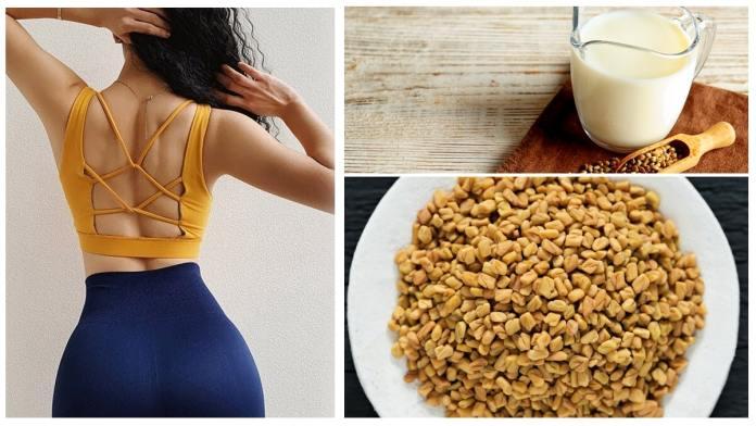 فوائد الحلبة والحليب للتسمين