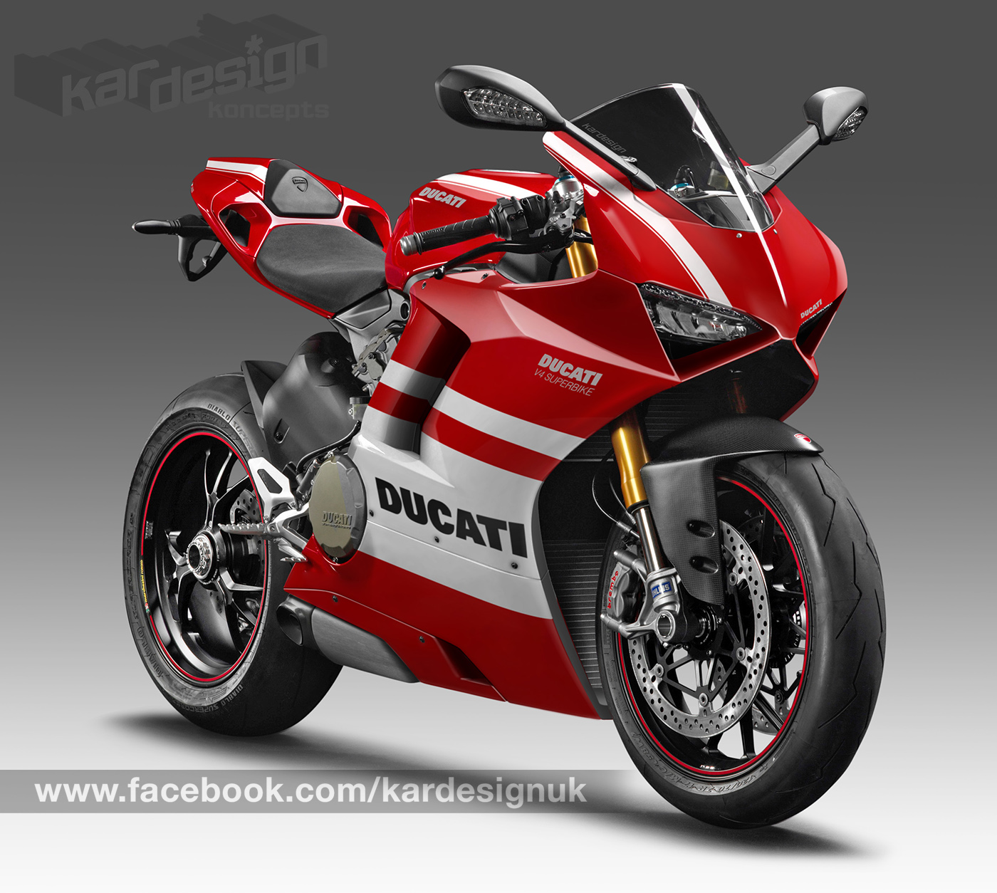 EXCLUSIVE First Look At The New Ducati V4