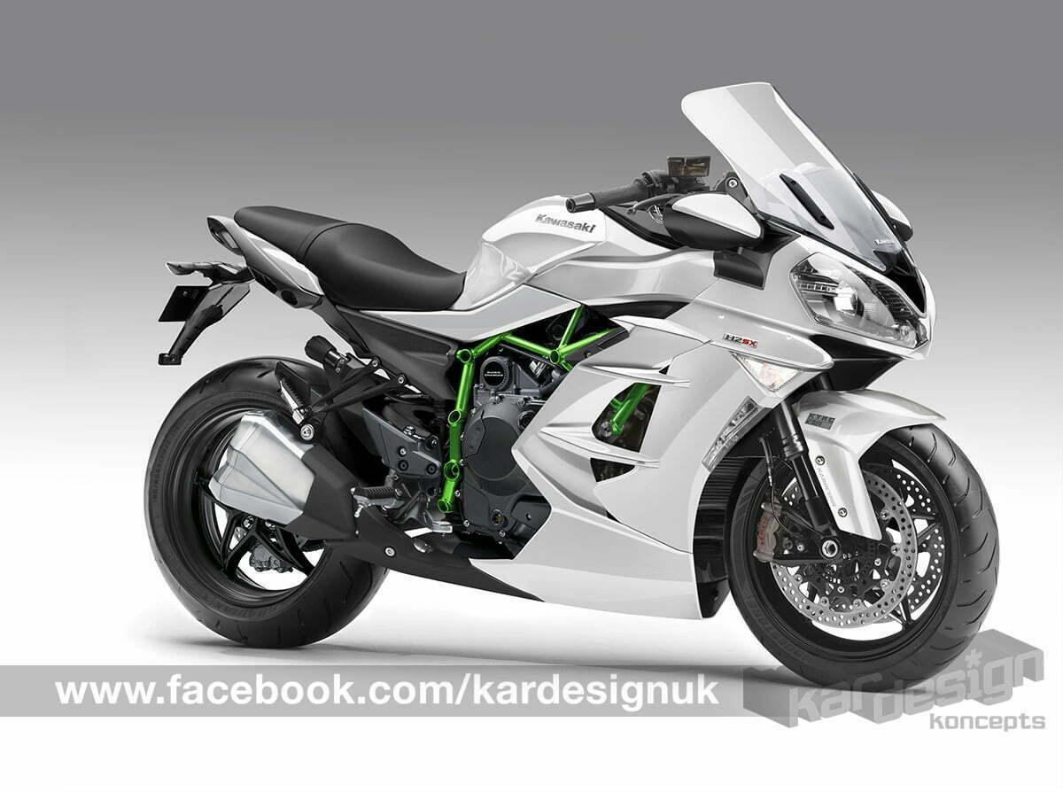 Kawasaki Supercharged Sport Touring Bike