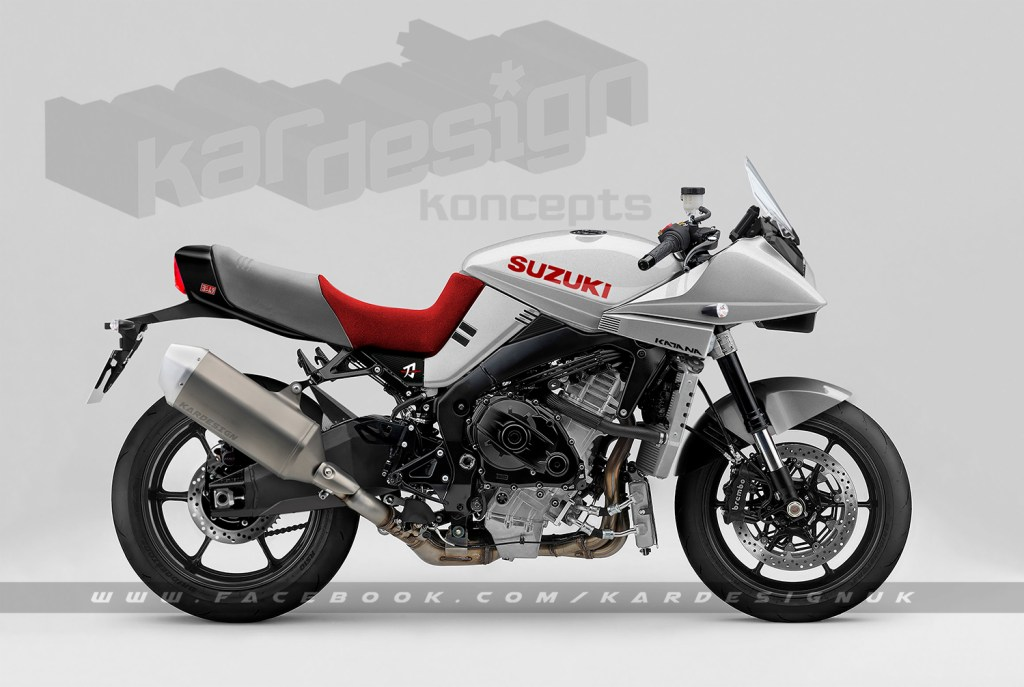 Kardesign Suzuki Katana concept