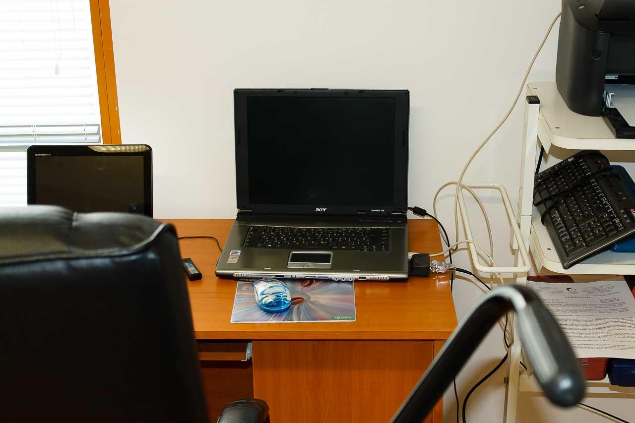 Kardiologia - kép Dr. Habon Tamás laptopjáról