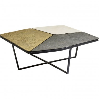 coffee table patches 103x102cm kare design