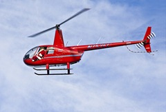 Santa Claus in helicopter by Muffet