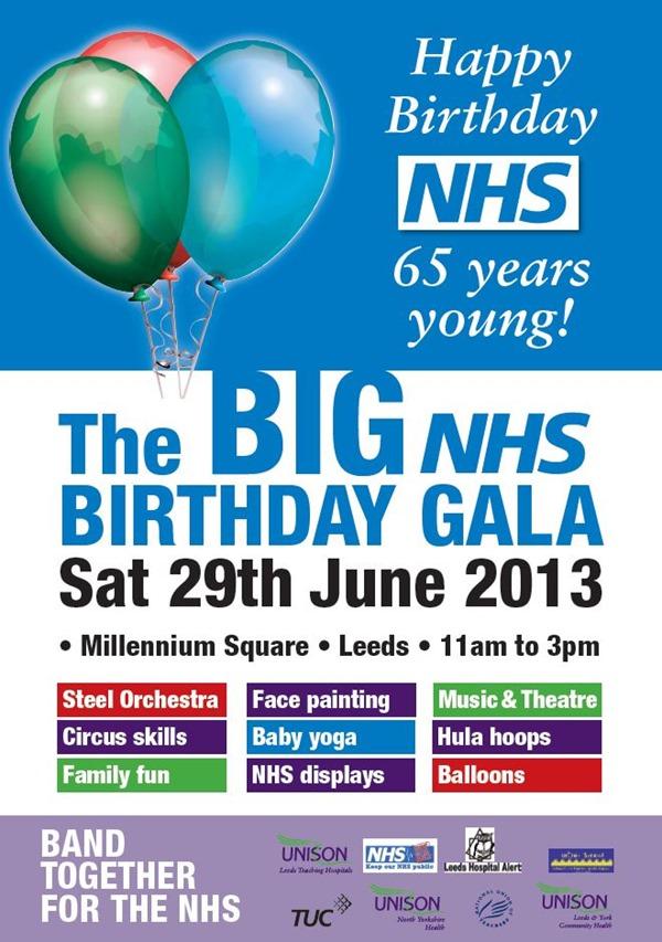 NHS birthday gala, Leeds