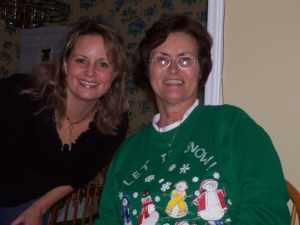 Melissa and her sweet mom
