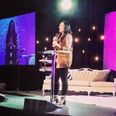 """Our opening keynote by P31 Prez Lysa TerKeurst on the theme of her new book The Best Yes--""""Unrush Me"""""""