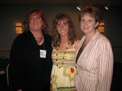 Thais, my daughter and me at one of my speaking events in 2007