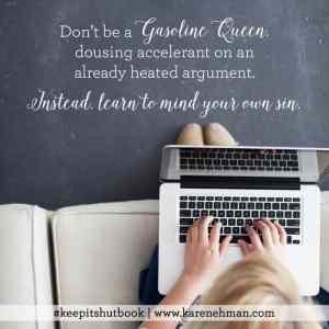 Keep It Shut - Karen Ehman