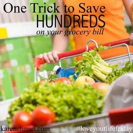 save hundreds on your grocery bill