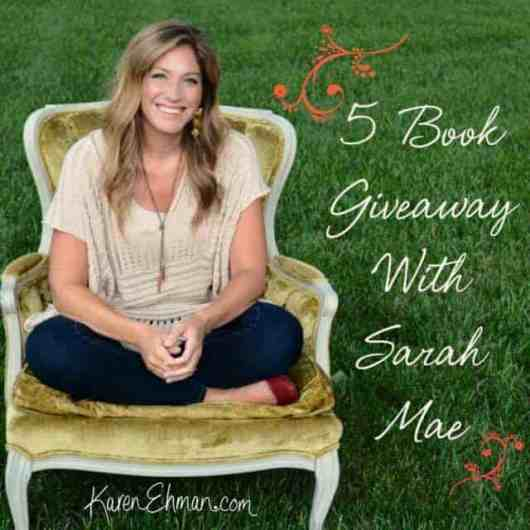 Long for adventure and excitement but you're up to your eyeballs in dishes and laundry and life? Check out Longing For Paris book giveaway with Sarah Mae on karenehman.com