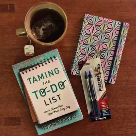 """Need to take your list from """"to-do"""" to """"It's done!""""? GIVEAWAY of the new book Taming The To-Do List over at karenehman.com"""