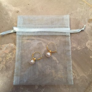 Pearl earring give away