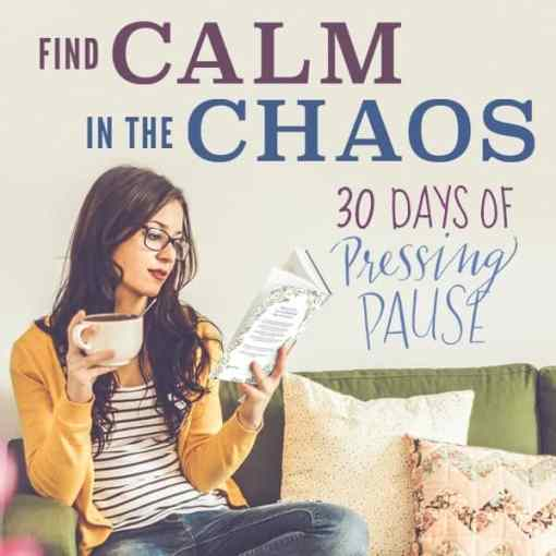 FREE 30 Days of Pressing Pause for moms from karenehman.com and thebettermom.com