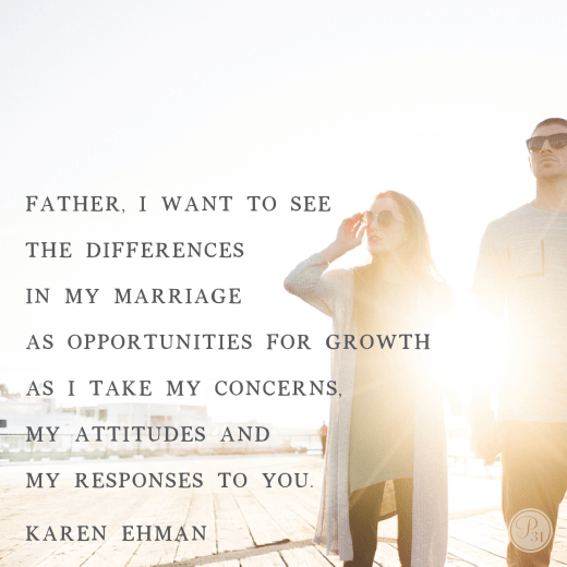 Sandpaper SPouses. A Proverbs 31 devotion from Karen Ehman (karenehman.com)