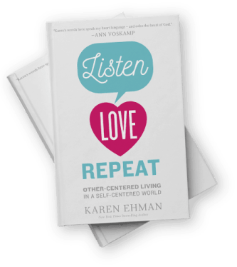 Newest book by New York Times bestselling author Karen Ehman!