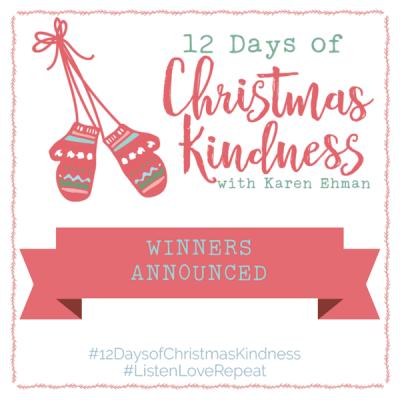 Winners announced for Karen Ehman's 12 Days of Christmas Kindness