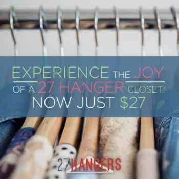 27 Hangers, online course by Shari Braendel at fashionmeetsfaith.com.
