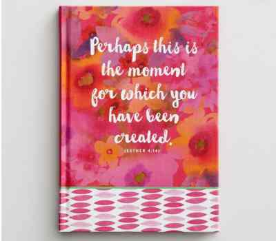Dayspring journal, Esther 4:14. 10 Gifts She'll Love at karenehman.com.