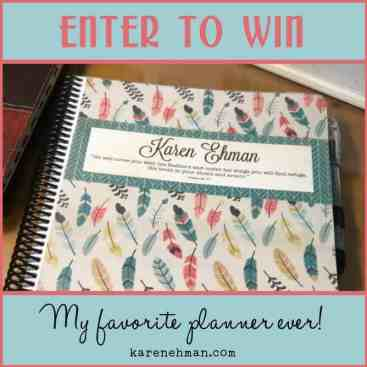 My Favorite Planner Giveway