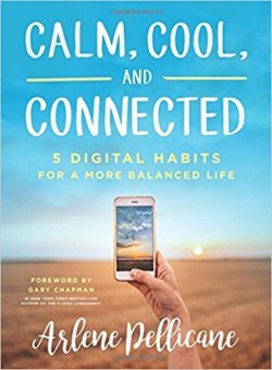"""Calm, Cool, and Connected: 5 Digital Habits for a More Balanced LifebyArlene Pellicane. 7 Favorite """"Fireside Reads"""" by Karen Ehman."""