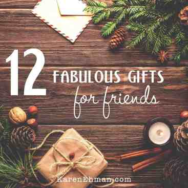 12 Fabulous Gifts for Friends