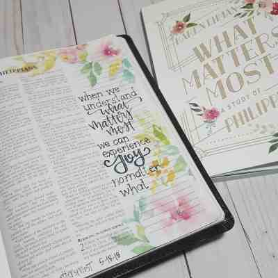 Busting the myths of Bible Journaling by Jana Kennedy-Spicer for #LoveYourLifeFriday at karenehman.com.