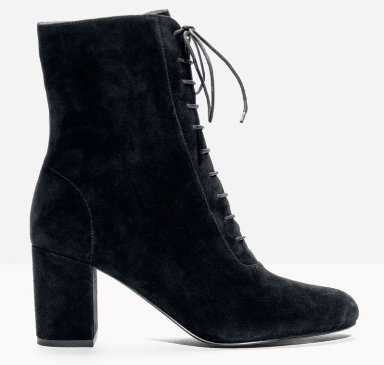lace-up-suede-bootie