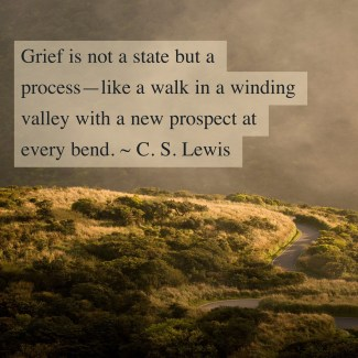 Grief, courtesy of Adobe Spark