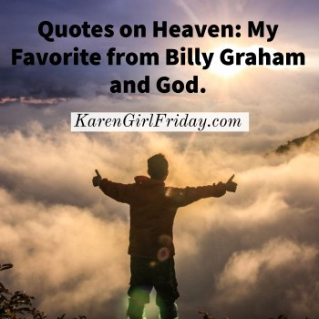 Quotes on Heaven: My Favorite from Billy Graham and God, Adobe Spark