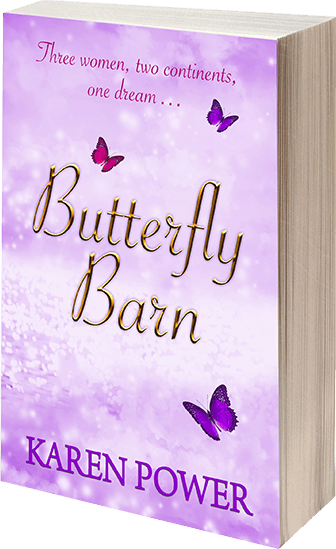 Butterfly Barn - Karen Power - Book Cover