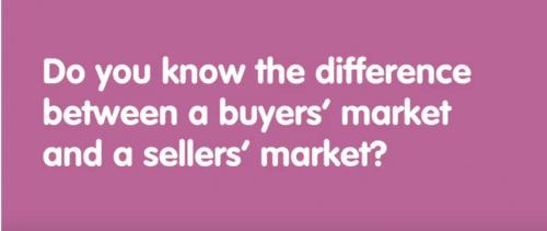 Buyer's Market versus Seller's Market
