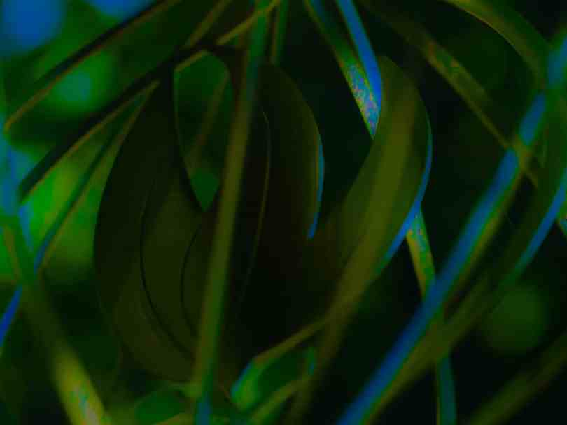 Abstract - green, blue