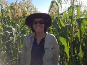 Karen in Cornfield