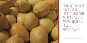 tip, lemons, limes
