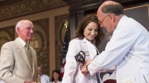 wedding, time, medical student, white coat