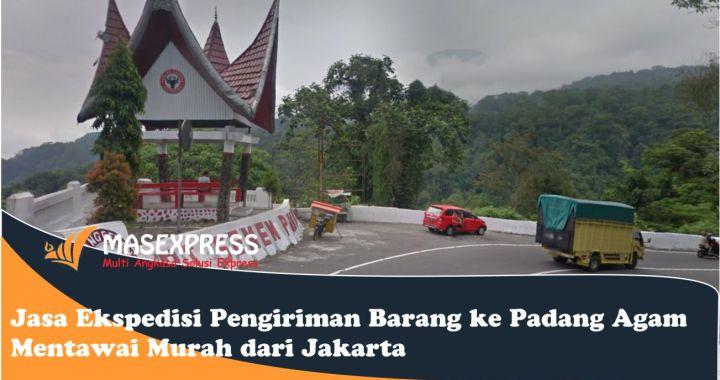Jasa dan tarif cargo Padang Agam Mentawai