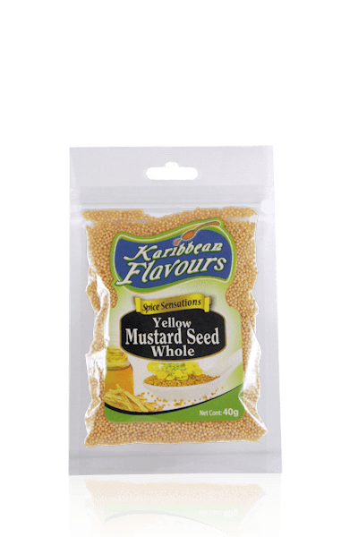 Spice Sensations-Yellow Mustard Seed Whole 40g