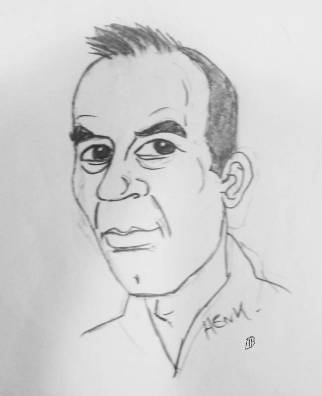 Henk Vink Donner werk collega Rickyfied