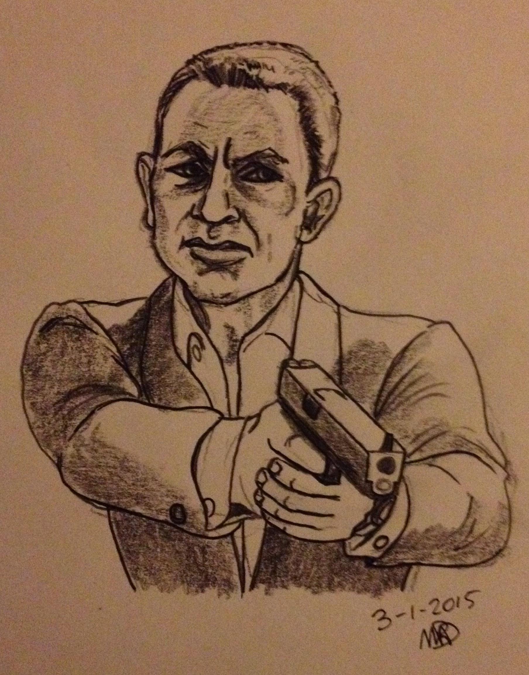 Daniel Craig wapen
