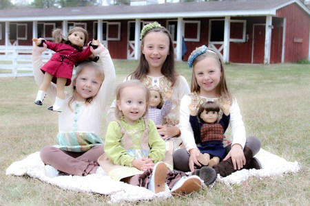 American Girl dolls are great, but we want a live and furry friend.