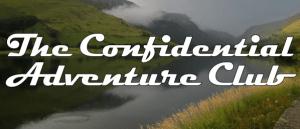 The Confidential Adventure Club header