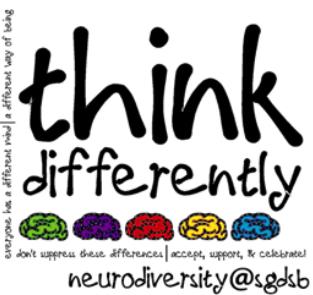 Neurodiversity And Differentiation >> Sgdsb Celebrates Differences Neurodiversity Day Ontario News North
